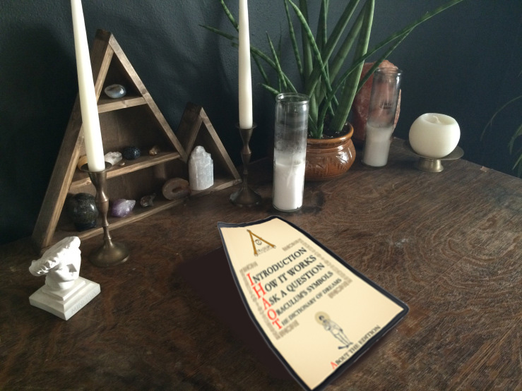 Oraculum in magica tabella