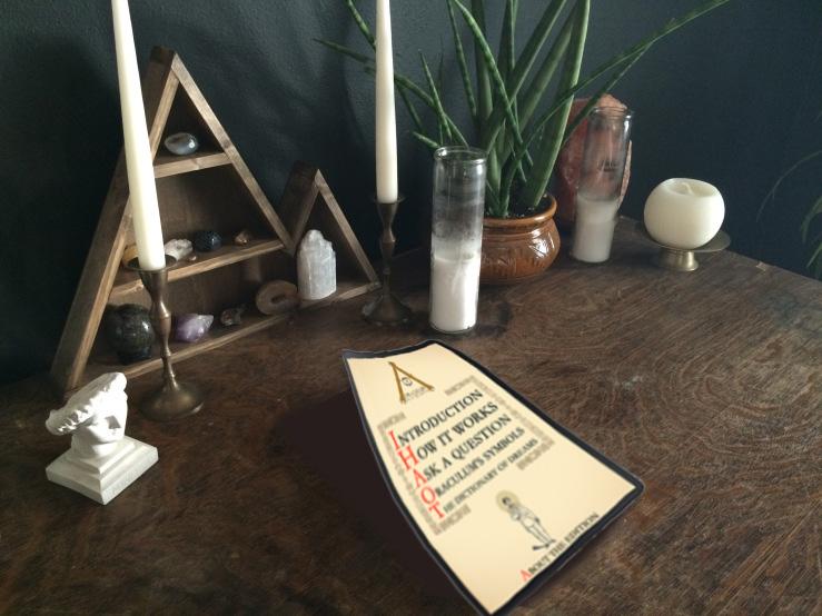 Oraculum en tabla mágica